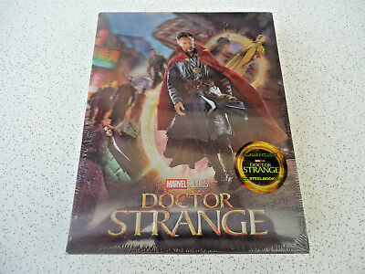 DOCTOR STRANGE 3D BLU-RAY (BLUFANS Single Lenticular Steelbook) NEW SEALED RARE