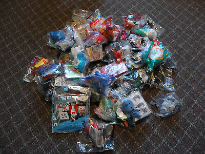 LOT OF 45 McDonald's Happy Meal toys Unopened 1998 - 2018 See list