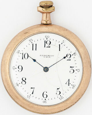 Antique 1897 Seth Thomas 6s 7j Pocket Watch for Restoration out of an Estate!