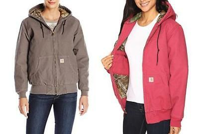 a597250d95e54 Carhartt Womens Sandstone Active Jacket Camo Lined 101732 Uniforms, Work &  Safety