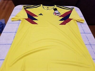 d710acf8d Vintage Colombia National Team Adidas Jersey XL Throwback New NWT Rare  Soccer