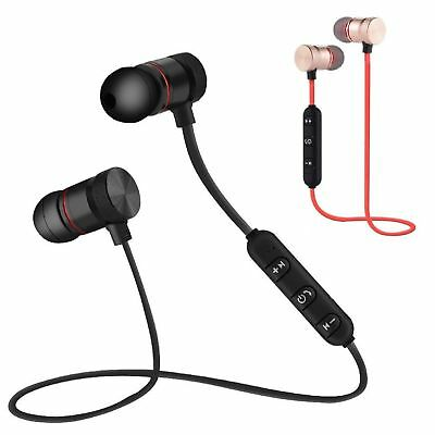 Bluetooth Headset Wireless Sport Stereo Headphones Earphone Earbuds With Mic USA