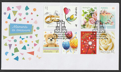 Australia 2019 : Moments to Treasure - First Day Cover. Mint Condition