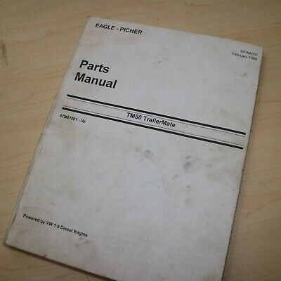 CATERPILLAR R60 R80 Forklift Parts Manual book catalog spare