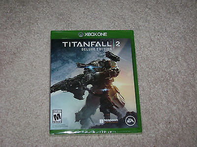 Titanfall 2 Deluxe Edition...xbox One...***sealed***brand New***!!!!!!!!
