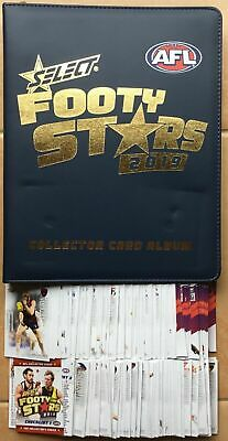 2019 Footy Stars Complete Common Set And Folder With Pages + Aflw 252 Cards