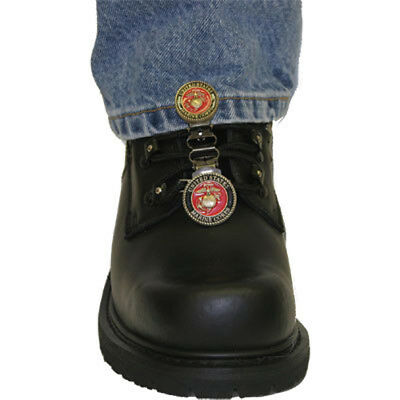 Ryder Clips MCBRL-FC Boot Stirrups for Laced Boots OSFA USMC Red