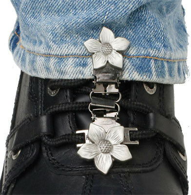 Ryder Clips FWL-FC Laced Boots Two Clip Version Flower