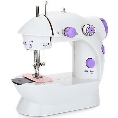 202 Mini Sewing Machine Double Speed Automatic Thread with Light