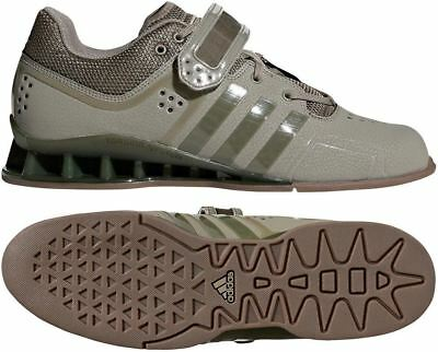 a5375ace5274 Adidas Adipower Weightlifting Boots Mens Womens Green Powerlifting Trainer  Shoes