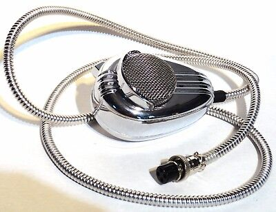CB microphone mic cover 4 pin SS cord cable for Peterbilt Kenworth Freightliner