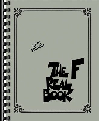 The Real Book Volume I - F Instruments Real Book Jazz Music NEW 000286389