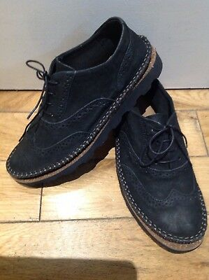 1a301aa836c7 womens Clarks Damara Rose black combi Leather Casual Ladies Shoes size 4.5 D