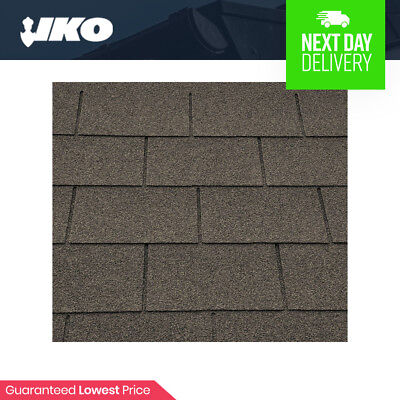 Roofing Felt Shingles | Shed Roof Felt Tiles | IKO Felt | Brown Square Butt