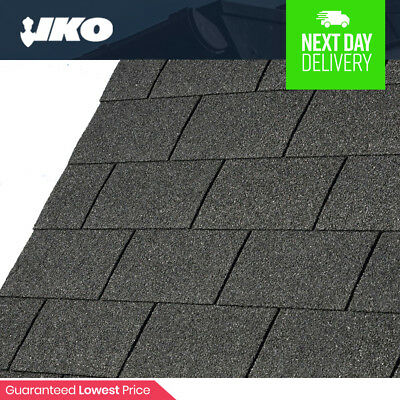 Roofing Felt Shingles | Shed Roof Felt Tiles | IKO Felt | Black Square Butt