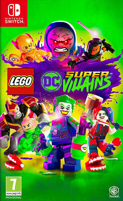LEGO DC Super-Villains (Switch) BRAND NEW AND SEALED - IN STOCK - QUICK DISPATCH