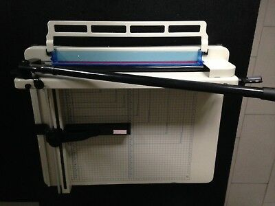 A3 Heavy Duty Guillotine Paper Cutter Trimmer 400 Sheets Capacity