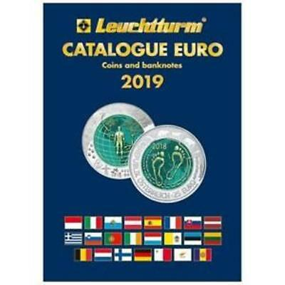 Euro Commemorative Coins & Banknote Price Guide Catalogue 2019 Edition, New Book