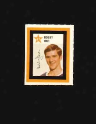 1970-71 Colgate Stamps Bobby Orr Boston Bruins # 87