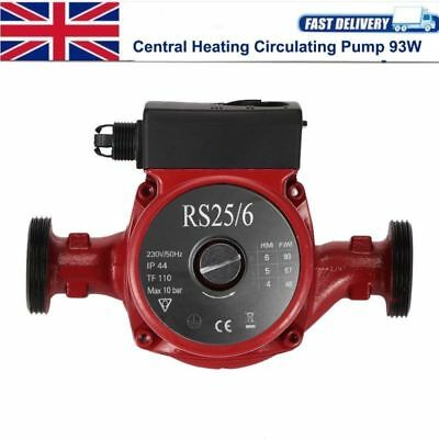 93W Central Heating Hot Water Circulation Booster Pump Boiler Warmer Household