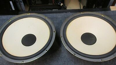 1 PAIR of Vintage Fisher SC80740-2 Stereo Speakers Japan 852TNB TESTED good cone