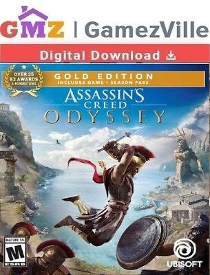 Assassin's Creed Odyssey Gold Edition Steam Gift Not Key PC Digital Download