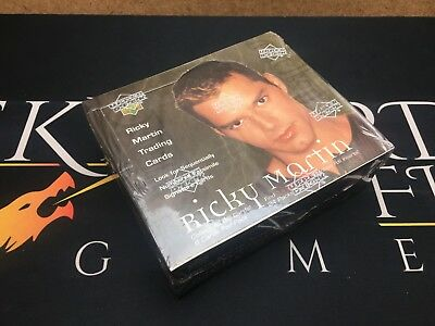 Ricky Martin Trading Cards Booster Box - Upper Deck (Sealed)