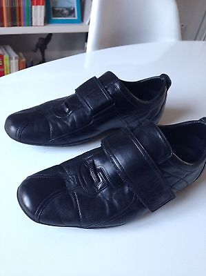3c66811f21ed4 CHAUSSURES GUCCI SNEAKERS Cuir Noir Taille 42 - EUR 129