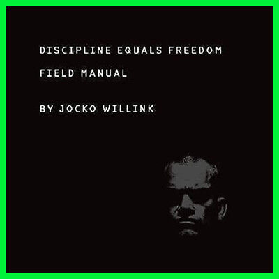 Discipline Equals Freedom: Field Manual (E-book) {PDF} ⚡Fast Delivery(10s)⚡