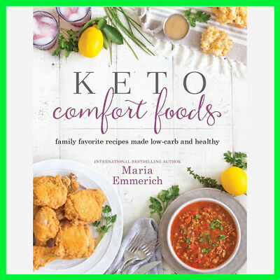 Keto Comfort Foods by Maria Emmerich (E-book) {PDF} ⚡Fast Delivery(10s)⚡