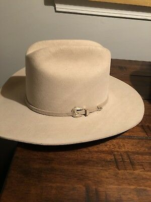 Western Hat ~ MHT ~ Master Hatters of Texas ~ Fawn Bone ~ 3X Beaver 1 ... c8c546480599