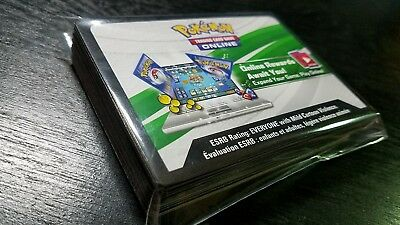 50 S&M TEAM UP Codes Pokemon TCG Online Booster Packs SHIPPED ONLY