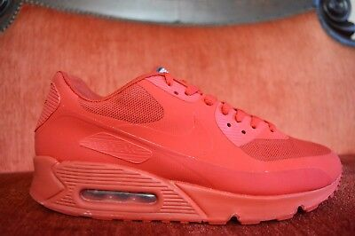 new product 4c0a6 7a191 CLEAN Nike USA air max 90 sport Red independence day 613841-660 10 Kanye  West