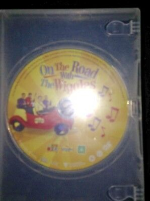 Abc For Kid's The Wiggles Dvd ~On The Road~ Vgc~ No Slipsheet