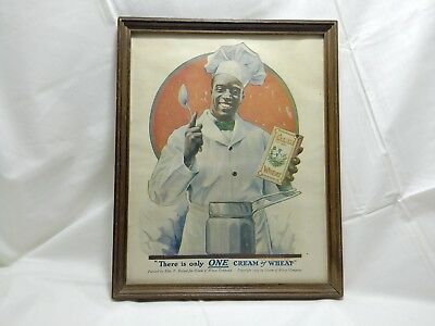 Framed Vintage There Is Only ONE Cream of Wheat