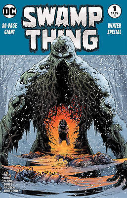 Swamp Thing Winter Special #1 2Nd Ptg Dc Comics