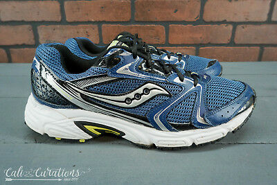 a868497c90 VGC! NIKE LUNARGLIDE 6 Mens Size 10 Running Shoes Gray/Blue/Yellow ...