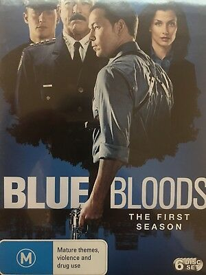 BLUE BLOODS - Season 1 6 x DVD Set BRAND NEW! Complete First Series One