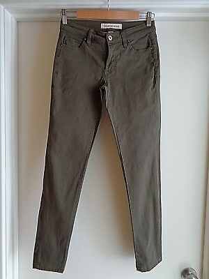 Country Road Coloured Stretch Jean, Size 4 Perfect Condition.