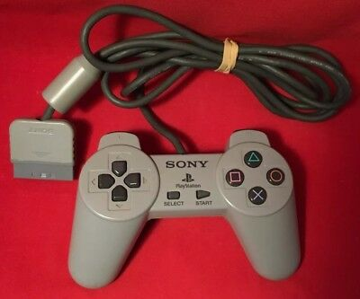 Official Sony Original PlayStation 1 / PS1 - Controller / Control Pad - TESTED
