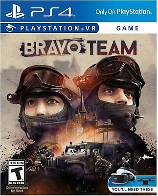 Bravo Team PSVR Playstation 4 PS4 VR Game Free Shipping with Tracking# New Japan