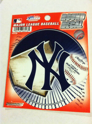 #New York #Yankees #Static Cling #Decal #4 1/2 inch Round