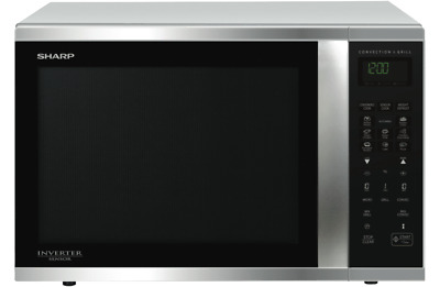 NEW!!:Family-sized SHARP R995DST 1000W SS Convection Microwave & Grill