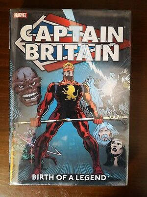 Captain Britain Vol 1, Birth Of A Legend, Marvel Hardcover, New, Shrink-Wrapped