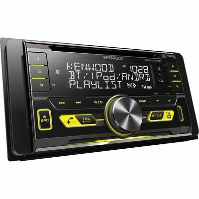 Kenwood Double Din CD / Digital Media Player with Bluetooth - DPX-5100BT