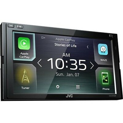 JVC Android Auto and Carplay 6.8inch Digital Media Player - KWM740BT