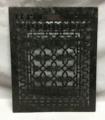 Antique Rectangular Heat Grate Grill Gothic Cold Air Return 12X15 159-19C