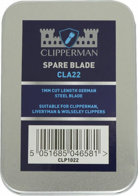 Clipperman CLA22 German Steel Blade Set 1mm for Fortress Baroness Dragon CLP1022