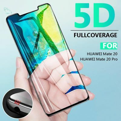 For Huawei Mate 20/20 Pro Full Screen Protector 5D Curved Tempered Glass Film