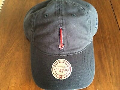 4055d8dd Cleveland Cavaliers Mitchell & Ness Elements Slouch Strapback Dad Hat Rare  Color